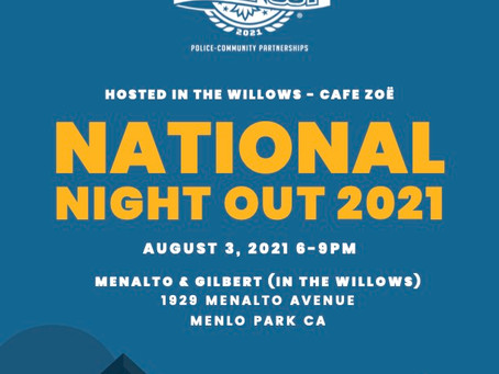 National Night Out + more!