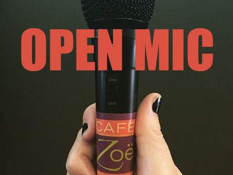 Open Mic this Friday 10/15
