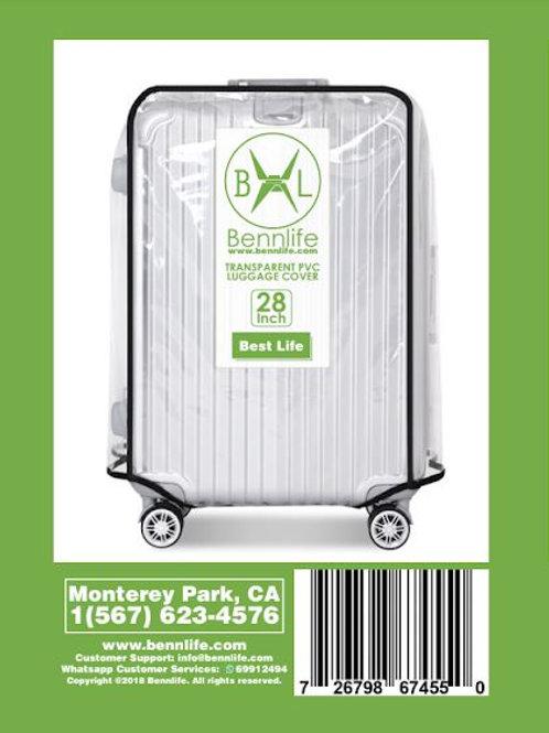 Bennlife賓尼生活 透明行李箱防水套 28吋