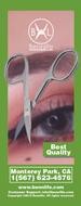 Bennlife 不銹鋼美容多功能剪刀, 眉毛/睫毛剪刀