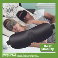 Bennlife賓尼生活 3D 眼罩 /適合睡覺/旅行/小睡/夜間蒙上眼睛 (黑色, 1件)