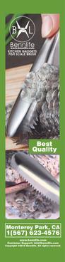 Bennlife 賓尼生活 不銹鋼刮魚鱗器