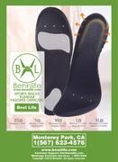 Bennlife賓尼生活 運動鞋墊足底筋膜炎 腳部護理鞋墊 減輕震盪鞋墊