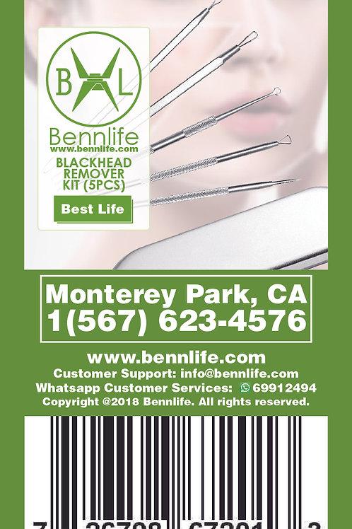 Bennlife賓尼生活  黑頭,粉刺套裝(5件)
