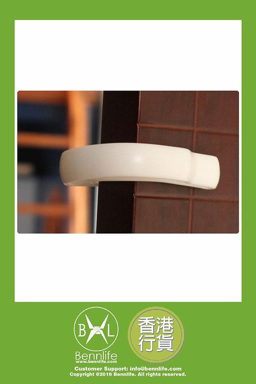 Bennlife 賓尼生活 兒童嬰兒防夾手門檔(1個,白色)