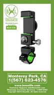Bennlife 賓尼生活 單車用手機架 手機支架 具LED燈及指南針 踏單車必備 (1件)