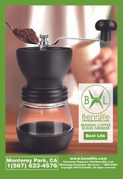 Bennlife賓尼生活 手動咖啡磨豆機