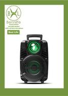Bennlife賓尼生活 8寸戶外手提移動拉桿大功率音響(配一支無線咪)