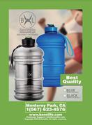 Bennlife 賓尼生活2.2公升大容量運動行山健身瑜伽水壺,安全無毒