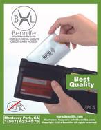 Bennlife賓尼生活 RFID 防盜卡套 防盜信用卡套 超薄RFID安全防盜刷NFC卡套 (3張)