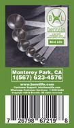 Bennlife賓尼生活 不銹鋼廚房量匙/用於香料&液體/ (一套六件)