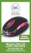 Bennlife賓尼生活 USB電腦滑鼠