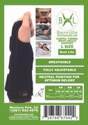 Bennlife賓尼生活 香港品牌/ 黑色可調節護手腕保護套左&右 (1套)