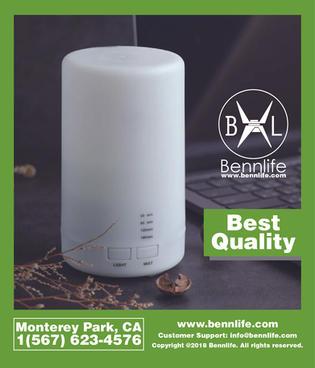 Bennlife賓尼生活 USB夜燈香薰機 小夜燈 加濕器霧化器 (輕量噴霧設計)