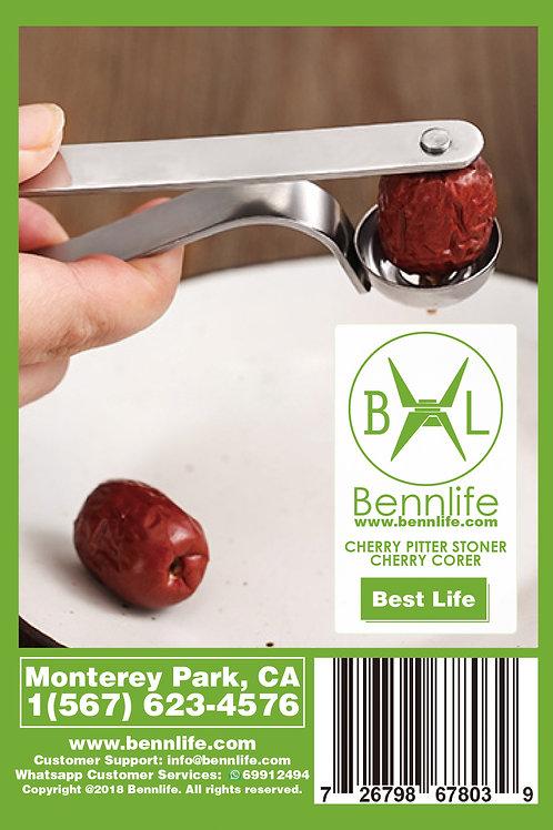 Bennlife 賓尼生活 不銹鋼櫻桃去核器 紅棗櫻桃去核器