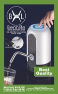 Bennlife賓尼生活 USB充電自動飲用水泵 桶裝水抽水器/水桶壓水器/自動飲水泵 (白色,1件)