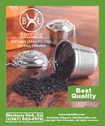 Bennlife賓尼生活 不銹鋼桶形茶葉過濾器,泡茶器 方便使用