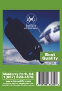Bennlife賓尼生活 旅行錢包及貼身腰包,內有RFID防盜卡護照、防盜刷、防磁等功能 (1件)