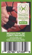 Bennlife賓尼生活 關節彈性手指保護套10隻 (黑色)