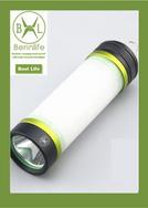 Bennlife 賓尼生活 戶外露營防水LED多功能手電筒(綠色)