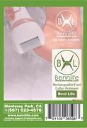 Bennlife 賓尼生活充電式電動磨腳器 去角質 死皮