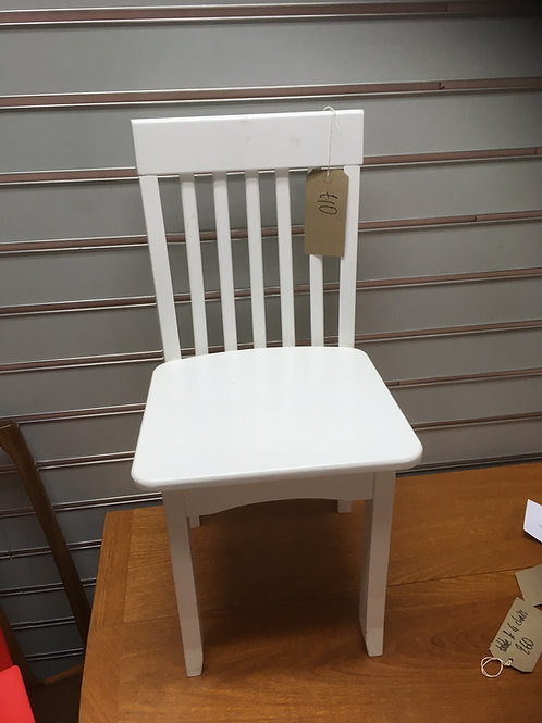 Child's Reading Chair (White)