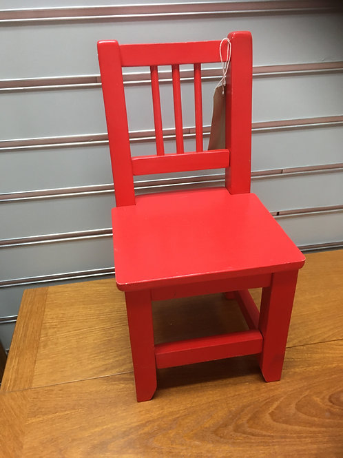Child's Reading Chair (red)