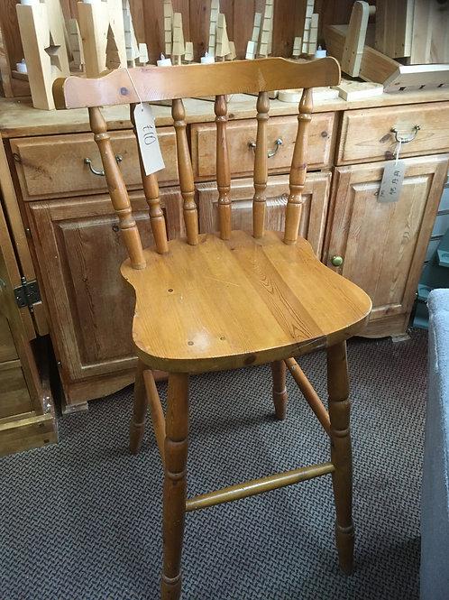 Wooden Schoolmaster's Chair