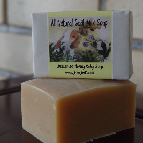 Unscented Honey Baby Soap