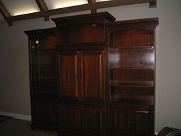 Custom Made 4 Piece  Entertainment Centers