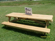 8ft Pressure Treated Picnic Table