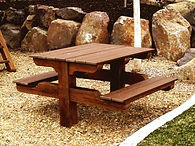 2 Seater Picnic Table / Built on Site