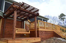 Pergola, Swing, and Decks