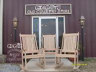 Handmade White Oak Rockers