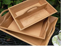 Handmade Wooden Trays