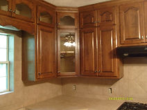 Custom Cabinets and Tile work