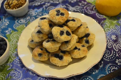 mini Blueberry muffins (per 1-dozen)