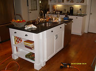 Custom Made Islands / Kitchen Cabinets