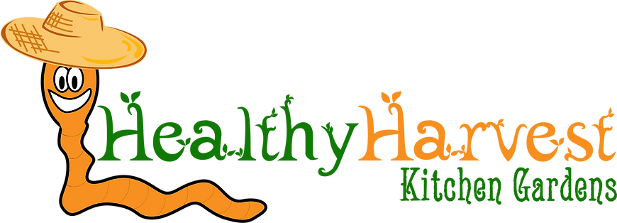 healthy havest kitchen gardens logo