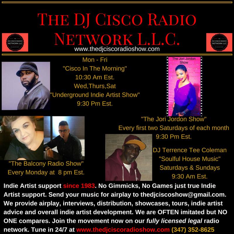 Indie Artist Support Radio Show, Indie Artist Of Any Genre Support