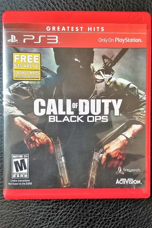"PS3 ""CALL OF DUTY BLACK OPS"" & ""CALL OF DUTY BLACK OPS II"""