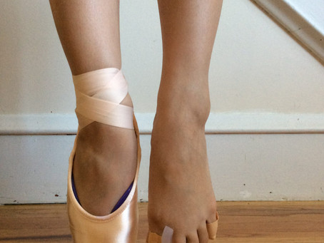 Spacers in Dance Shoes