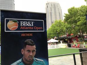 2017 BB&T Atlanta Open Tennis Tournament