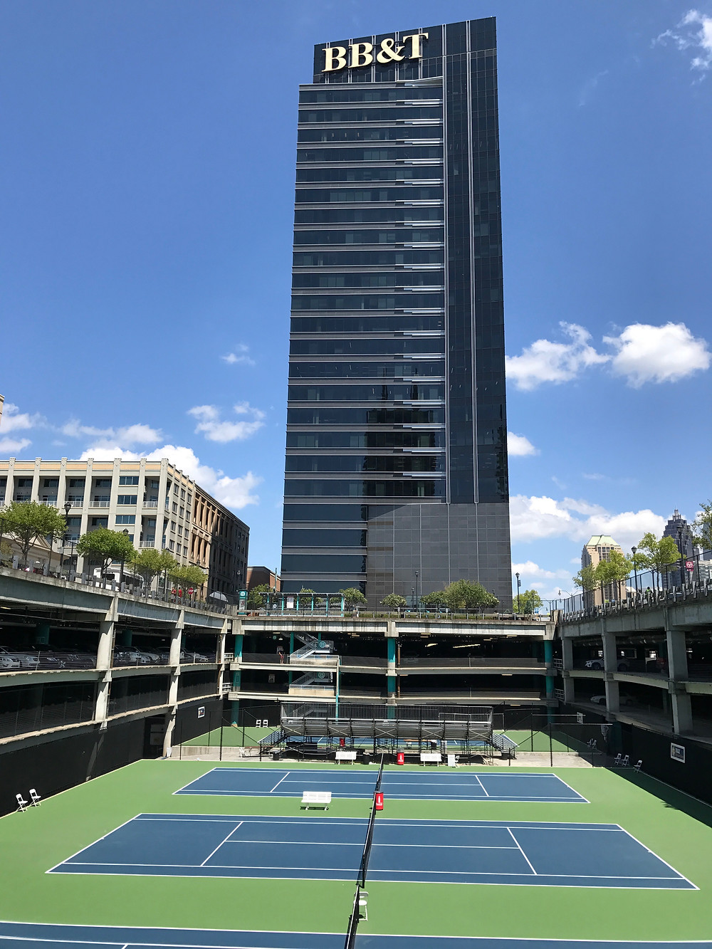 The tennis tournament, BB&T Atlanta Open, is held annually in Atlantic Station