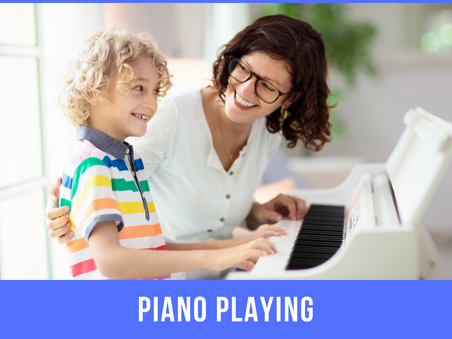 Piano Playing Benefits for Children