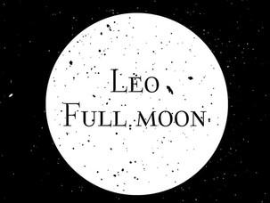 Full Moon in Leo