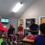 Website - Manny Presenting at Golf Camp