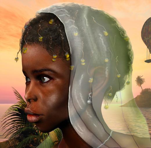Derrick Grant, Child Bride Monica