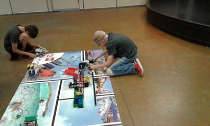 Robotic Camp 2018 - Setting the robot up