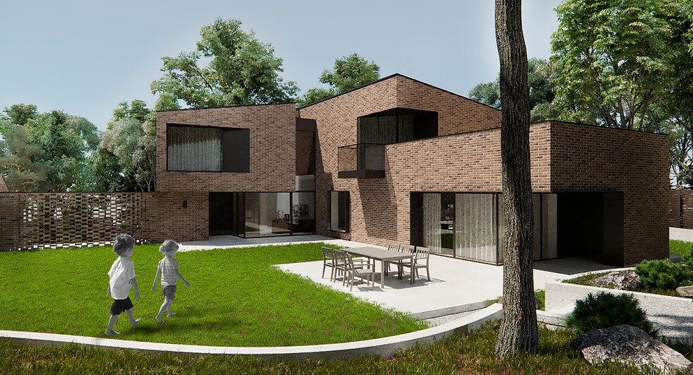 Архитектор, поект дома, брикс